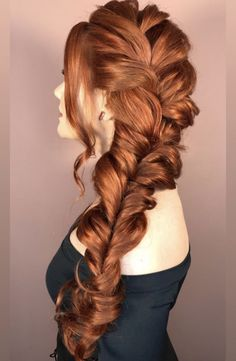 Pretty Hairstyles, Braided Hairstyles, Wedding Hairstyles, Red Hair Inspo, Hair Upstyles, Red Hair Color, Ginger Hair, Hair Today, Dyed Hair