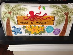 Custom Hand Painted Mailboxes by CoastalCalligraphy