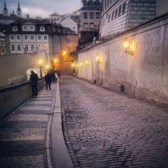 Nerudova ulice en Praha, Hlavní město Praha