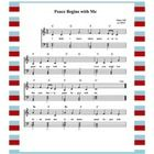 """This song was written for a third grade class to perform at a local International Day of Peace Celebration. Its gentle words and simple melody make it easy and fun to learn and share, but its message is powerful and important. It is entitled, """"Peace for Elementary Music, Elementary Teaching, Peace Songs, International Day Of Peace, Teacher Helper, Sheet Music, Piano Music, Music Activities, Special Education Classroom"""