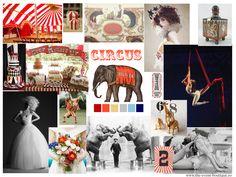 Circus wedding theme inspiration
