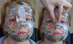 paper mache masks | going to make masks with the kids for Karnival/Mardi Gras