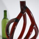 Stranger Wine: Hand-Blown Glass Wine Decanters by Etienne Meneau Mimic Blood Veins and Root Systems