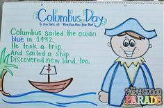 The First Grade Parade: Columbus Day Fun & a Little Sale :)