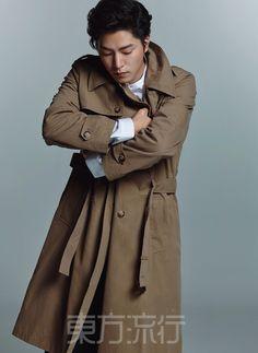 Hong Jong Hyun - Eastern Trends Magazine April Issue '16 Hong Jong Hyun, Jung Hyun, A Frozen Flower, Lim Ju Hwan, Ma Tian Yu, Lee Hong Bin, Old School Radio, We Found Love, No Min Woo
