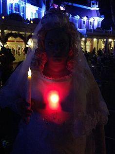 The Attic Bride (Beating Heart Bride) Haunted Mansion Costume, MNSSHP