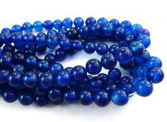 n Blue Agate round 06mm AAA