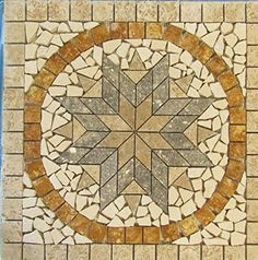 Tumbled Natural Stone Mosaic Medallion Indoor or Outdoor,... https://www.amazon.com/dp/B01M10IYRD/ref=cm_sw_r_pi_dp_x_wQd9xbPV2ZCX2