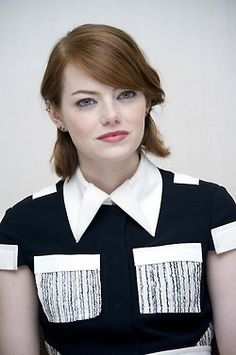 Emma Stone - 'Birdman' Press Conference at The New York Palace Hotel on October 13, 2014 in New York City by Yoram Kahana