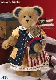 Patriotic Boyds Bears