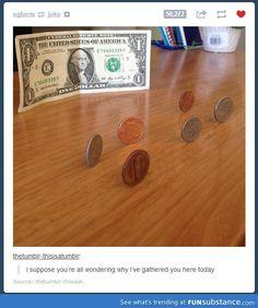 Monetary gathering