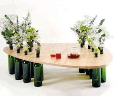 Oh my goodness, I love this table!! I wish I had somewhere to put something like this.