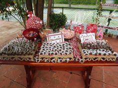 Dessert table - Rose Oak