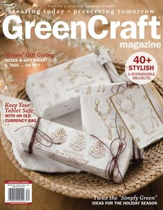 Explore 45+ stylish and sustainable projects, from gift wrap to holiday décor.