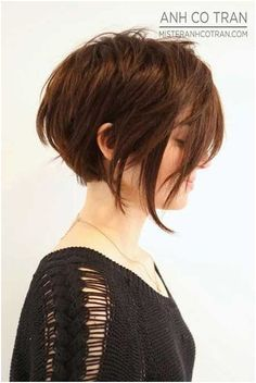 Cute Bob Haircut for Straight Hair