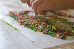 Crayon & Wax Paper Stained Glass, simple and beautiful #crafts. You may need to raid the kitchen and laundry room for this one! #diy #kids