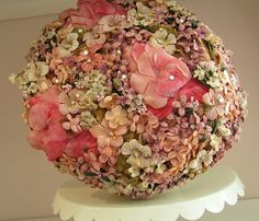 Vintage Hat with Pinks by andrea singarella, via Flickr