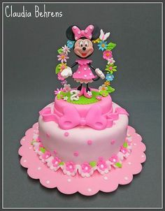 Minnie mouse cake - Minnie Mouse Birthday Cake Pictures