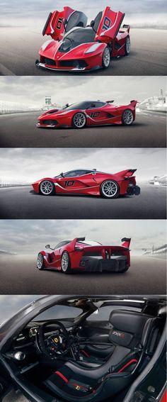 Ferrari FXX K ...this is something else people ... something else!