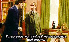 """""""A quick look around"""" from a Bit of Fry and Laurie (gif) I love this show!"""