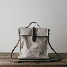 Uashmama Lunch Bag Grey - The Future Kept - 5