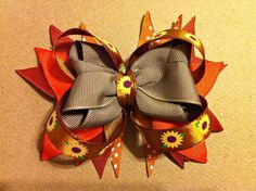 Fall for me Rusty orange and Khaki cuteness by Fabowlush on Etsy, $3.00