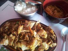 Bulbogi beef set at Korea House.