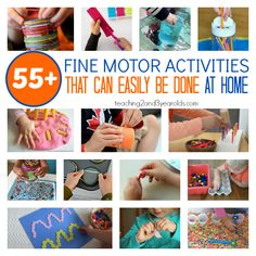 Fine Motor Activities That Can Be Done at Home