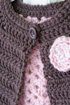 Kristi Simpson Crochet: Free Crochet Pattern: Simplicity Cardigan