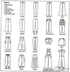 Pant Styles #mylittlegeneralstore
