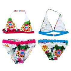 4.72$  Buy here - http://alie4n.shopchina.info/go.php?t=32803698715 - 2017 New Summer Girls Split Bikini Kids Cute Flower and Animal Pattern Swimwear Children Girl Floral swimsuit   #magazine