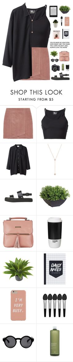 """i don't care what they say"" by cottonisth ❤ liked on Polyvore featuring Lost & Found, Base Range, Jennifer Zeuner, Ethan Allen, Fiorelli, ROOM COPENHAGEN, Nearly Natural, Sephora Collection, Monki and Eos"