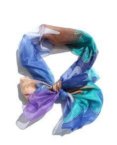 de5aee6b31054 28 Best Silk hand painted scarfs images in 2019 | Silk, Silk shawl ...