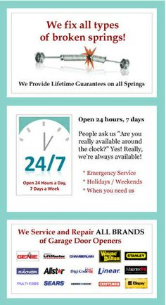 Many of the garage door service companies respond to your request the same day and their sales representatives are available 24/7. The service company would have a certified and experienced technician who would assist you at every step of your garage door installation to transform the look of your house in Atlanta.