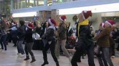 Air Canada Flashmob, via YouTube.