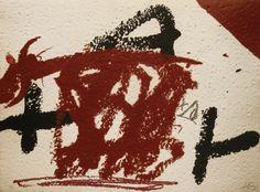 """Antoni Tàpies """"Variació 2"""" Grabado al Aguafuerte y Carborundum con Relieve Año: 1990 Dimensiones: 56 x 76 cm Edición de 75 ejemplares Firmado y numerado a mano Papel Lafranca hecho a mano Galfetti número 1272 Enmarcado Precio: Consultar Web  Más información: galeria@grabadosylitografias.com"""