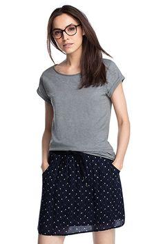 Esprit / Luchtig shirt met fijne textuur