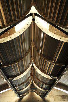 Ribbed. Louis Khan - Kimbell Art Museum - ceiling detail.