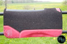 Red Indian Head Best Ever Saddle pad designed by Horses & Heels