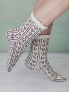 Picotkantade sockor Novita Nalle   Novita knits