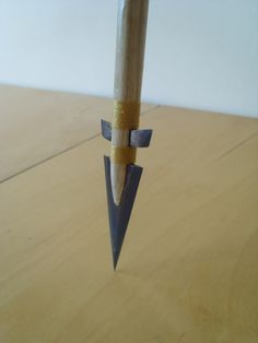 Homemade Metal Arrowheads | Homemade arrow head photo abc002.jpg