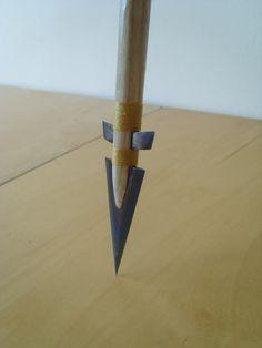 Homemade Metal Arrowheads   Homemade arrow head photo abc002.jpg