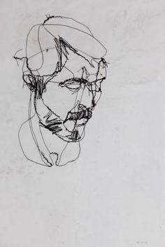 "Saatchi Art Artist David Oliveira; Sculpture, ""Selfportrait"" #art"