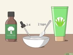 How to Use Tea Tree Oil for Acne. Tea tree oil can be used as a natural solution for getting rid of pimples. Tea Tree Oil Uses, Tea Tree Oil For Acne, Huile Tea Tree, Get Rid Of Spots, Oils For Dandruff, Bad Acne, Skin Treatments, Spot Treatment, Essential Oils