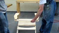 How to assemble our pine Adirondack chair kit. To ask about kit pricing email Kyle Stapleton at kyle.stapleton View all of our products at htt. Adirondack Chair Kits, Adirondack Furniture, Woodworking Furniture, Woodworking Projects, Concrete Coffee Table, Wine Cabinets, Diy Desk, Pine, Challenges