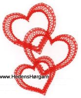 AN 1128 Sammenhængende hjerter Lace Making, Bobbin Lace, Happy Valentines Day, Crochet, How To Make, Inspiration, Bobbin Lacemaking, Christmas Ornaments, Hearts