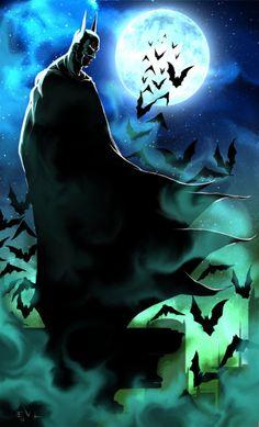 Batman's Foggy Night