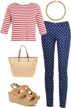 """polka dot jeans 