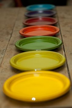 A rainbow of handmade Spanish terracotta plates by Collectively ...