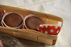 Fondant au chocolat et crème de marron -Tangerine Zest